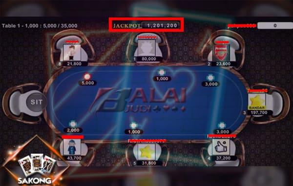 Jackpot Triple Ace Sakong Balaijudi