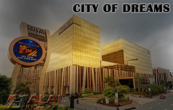 City of Dreams Manila Philipina - Balaijudi